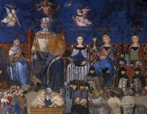 768px-Ambrogio_Lorenzetti_-_Allegory_of_the_Good_Government_(detail)_-_WGA13487