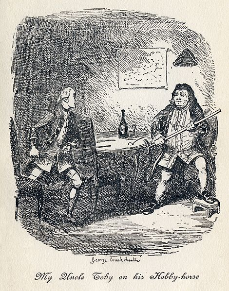 470px-George_Cruikshank_-_Tristram_Shandy,_Plate_V._My_Uncle_Toby_on_his_Hobby-horse