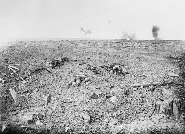 Courcelette, October 1916
