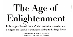Header for Enlightenment Article